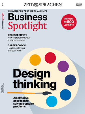 Business Spotlight Sprachmagazin Jahres-Abo - digital