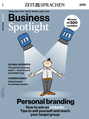 Business Spotlight Sprachmagazin zum Kennenlernen - digital